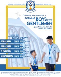 Forming Boys Into Gentelemen