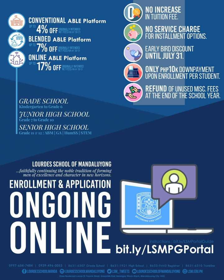Apply and Enroll Online