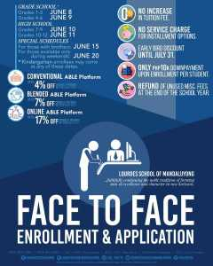 Face to Face Application Enrollment