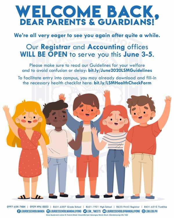 Welcome Dear Parents & Guardians