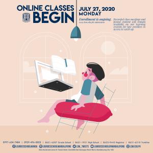 Online Classes Begin July 27 2020