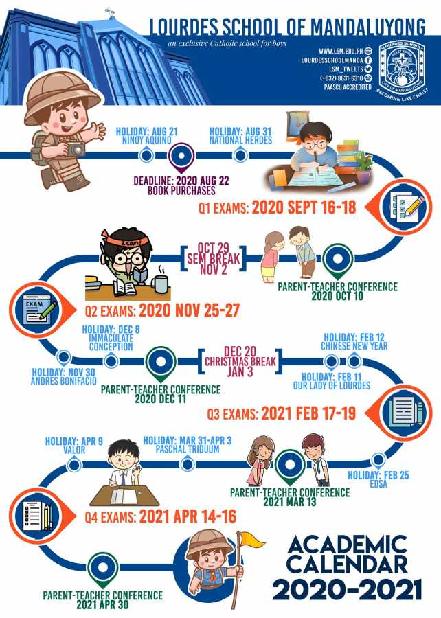 Academic Calendar 2020 0 2021