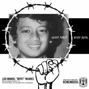 Luis Manuel was the son of Marcos whistle blower Primitivo Mijares
