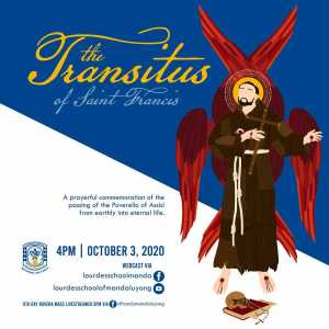 The Transitus of Saint Francis