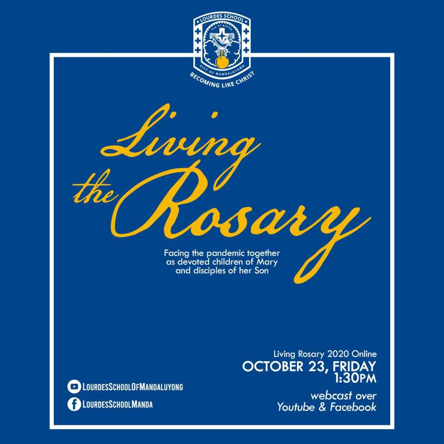 Living the Rosary October 23 2020