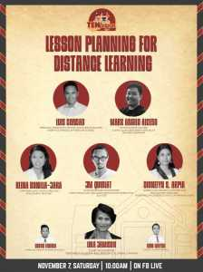 Lessongs Planning for Distance Learning