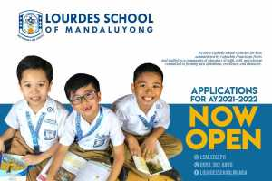 Applications For AY2021 - 2020 Now Open