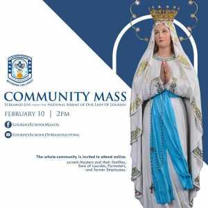 Community Mass February 10