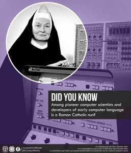 March is Women's History Month; let us remember Sr. Mary Kenneth Keller
