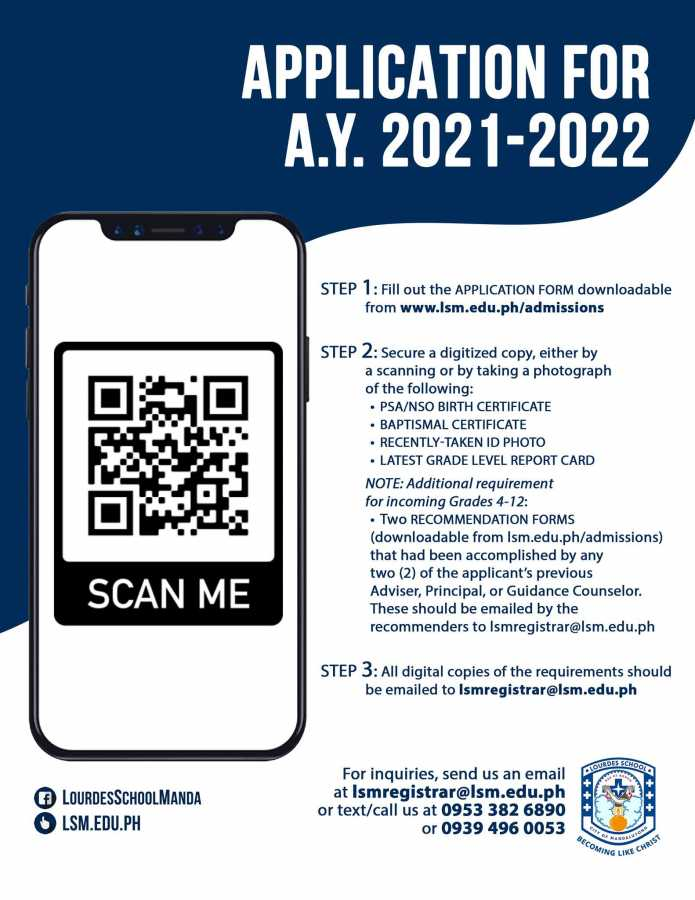 Application for A.Y 2021 - 2022