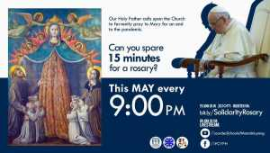 Our Holy Father is calling upon the Church-