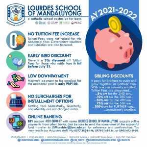 LSM - AY2021 - 2022 Tuition Fees