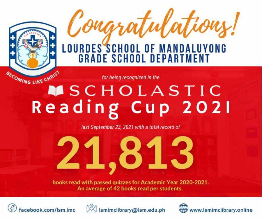 Congratulations to our Grade School Masters!