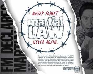 Never Forget Martial Law Never Again