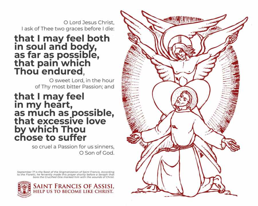Saint Francis of Assisi, Help Us To Become Like A Christ