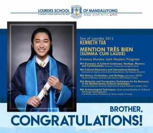 Son of Lourdes 2012, Kenneth Tua