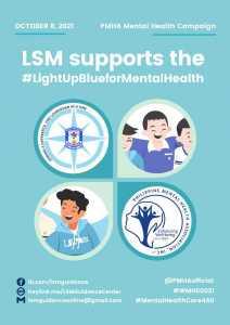 LSM Supports the #LightUpBlueforMentalHealth